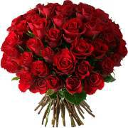 Bouquet di 85 rose rosse