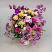 Fine pink flower arrangement