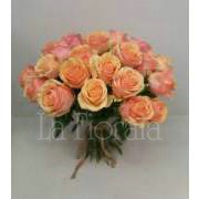 bouquet rose arancio stelo 50-60 cm